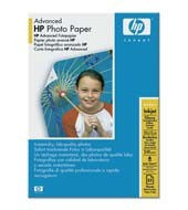 HP (Q8691A) Advanced Glossy Photo Paper 10x15cm, 25ks, 250 g/m2 papír