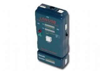 Nářadí Cable tester pro UTP, STP, USB kabely GEMBIRD