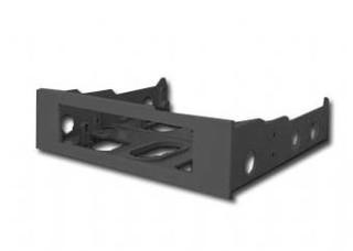 GEMBIRD MF-520-B 1PACK plastový montážní rámeček černý (pro 3.5