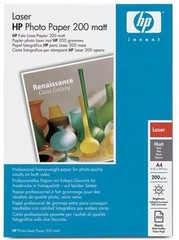 HP (Q6550A) Matt Photo Paper A4 pro LJ, 100ks, 200 g/m2 papír