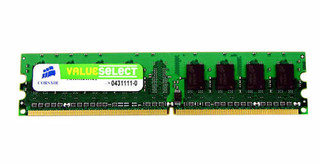 CORSAIR 2GB DDR2 PC6400 800MHz CL5 (2048MB)