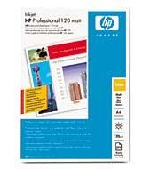 HP (Q6593A) Professional Matt Inkjet Paper A4, 200ks, 120 g/m2 papír