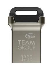 TEAM C162 32GB USB3.0 flash drive BLACK (kompaktní design, rozměr 24 x 12.2 x 7 mm, černé ouško, kov