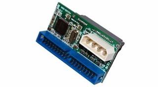 ST-LAB S-250 konvertor z SATA zařízení na IDE připojení (vytvoří IDE konektor na SATA mechanice, red
