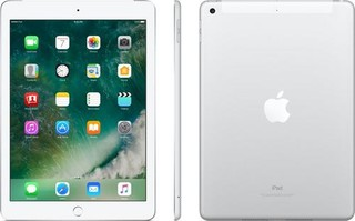 APPLE iPad 9.7in 128GB Wi-Fi + Cellular tablet CZ Silver (stříbrný, Čip A9, Retina 9.7 LED)