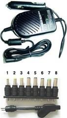 GEMBIRD Nabíječka adaptér notebooků universal DC1 80W CL do auta (CAR adapter)