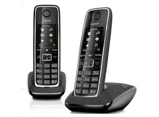 SIEMENS Gigaset C530 DUO bezdrátový telefon,black