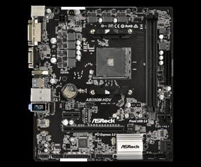 ASROCK MB AB350M-HDV (AM4, amd B350, 2xDDR4, PCIE, 4xSATA3 + M.2, VGA +DVI+HDMI, USB3.0, 7.1, GLAN,