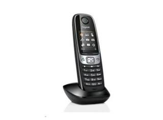 SIEMENS Gigaset C620H ručka, bezdrátový telefon, shiny black