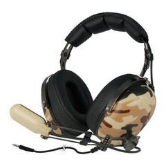 ARCTIC P533 Military sluchátka s mikrofonem, na uši (mušle)