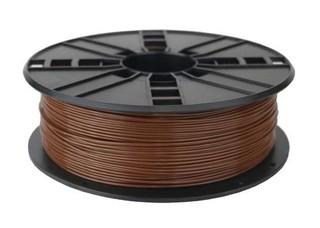 GEMBIRD 3D PLA plastové vlákno pro tiskárny, průměr 1,75 mm, dřevo, 3DP-PLA1.75-01-WD