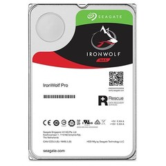 SEAGATE ST10000NE0004 hdd 10TB IronWolf PRO SATA3-6Gbps 7200rpm 256MB NAS HDD 24x7 1-16bay 214MB/s 3