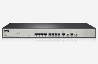 NETIS PE6310 8FE+2 Combo-Port Gigabit Ethernet SNMP PoE Switch