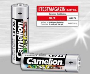 CAMELION 2ks baterie DIGI ALKALINE AA/LR6 blistr baterie alkalické (cena za 2pack)