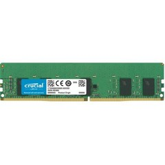 CRUCIAL 16GB DDR4 ECC Registered 2666MHz CL19 1.2V Single Ranked x4