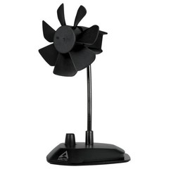 ARCTIC Breeze Black, stolní ventilátor do USB