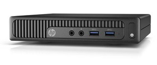HP PC HP 260 G2 DM mini PC, Win10Pro64, intel i3-6100U, RAM 1x4 GB, 128GBB ssd, usb klávesnice a myš