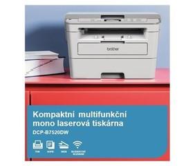 BROTHER Laser DCP-B7520D Print/Scan/Copy, A4, 34str/min, USB, 250listů, LAN, duplexní tisk - multifu