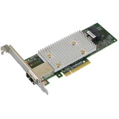Microsemi Adaptec HBA 1100-8i8e Single 12Gbps SAS/SATA 8 portů int. 8 portů ext., x8 PCIe Gen 3