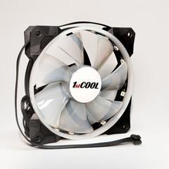 1stCOOL ventilátor RAINBOW RGB 12CM FAN, 120x25mm (RGB barvy duhové)