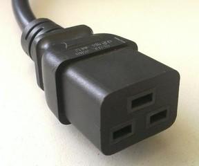 CORSAIR kabel síťový 230V napájecí speciální pro zdroj AX1500i (konektor C19)