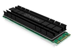 RAIDSONIC ICY BOX pasivní chladič pro M.2 SSD 2280 rozměr 22x80mm