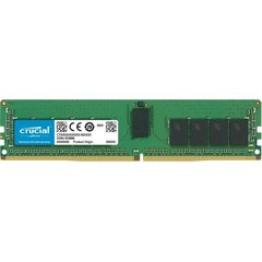 CRUCIAL 16GB DDR4 ECC Registered 2666MHz CL19 1.2V Dual Ranked x8