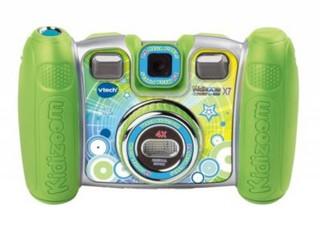VTECH Kidizoom Twist Plus X7 Zelený, dětský fotoaparát