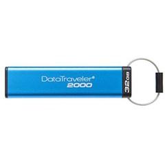 KINGSTON DataTraveler2000 32GB black USB3.0 flash drive (s klávesnicí, PINem a 256bit šifrováním)
