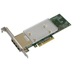 Microsemi Adaptec HBA 1100-16e Single 12Gbps SAS/SATA 16 portů ext., x8 PCIe Gen 3