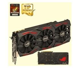 ASUS vga ROG-STRIX-GTX1080TI-O11G-GAMING GeForce GTX 1080 (8GB GDDR5X, 352bit, DVI+2xHDMI+2xDPort)