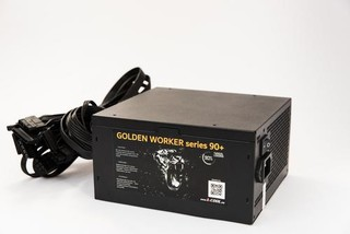 1stCOOL zdroj 500W GOLDEN WORKER 500 90+ s aktivnim PFC, ventilátor 140mm (zdroj do PC case)