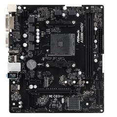 ASROCK MB A320M-HDV R3.0 (AM4, amd A320, 2xDDR4, PCIE, 4xSATA3 + M.2, USB3.1, VGA+DVI+HDMI, 7.1, GLAN, mATX)