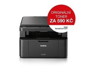 BROTHER Laser DCP-1622WE Print/Scan/Copy, A4, 32str/min, 600 x 600, 16MB GDI, WiFi, USB - multifunkc