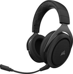 CORSAIR HS70 Stereo bezdrátová sluchátka Carbon (černé) WIRELESS Gaming Headset, sluchátka s mikrofonem, (náhlavní souprava)
