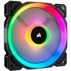 CORSAIR LL140 RGB 140mm Dual Light Loop Fan ventilátor PWM - 140x25mm (1 ks v balení, má dva LED kruhy)