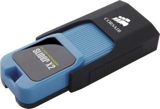 CORSAIR Voyager Slider X2 64GB USB3.0 flash drive (výsuvný konektor, čtení 310MB, zápis 80MB)
