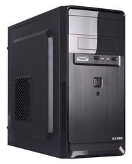 1stCOOL MicroTower STEP 2, ver.3, ATX black černý, bez zdroje, microtower mATX (1xUSB2+ 1xUSB3+ Audio+ Čtečka karet) (PC case)