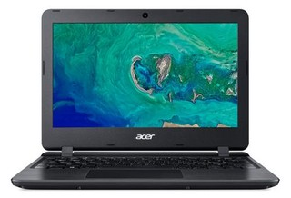 "ACER NB Aspire 1 (A111-31-C1GR) Celeron N4000 / 4GB+N / eMMC 64GB+N / A / HD Graphics / 11.6"" HD matný / BT / W10 Home in S mode / Black"