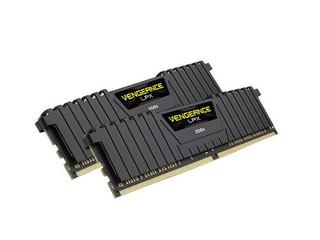 CORSAIR 16GB=2x8GB DDR4 3333MHz VENGEANCE LPX BLACK PC4-26600 1.35V CL16-18-18-36 XMP2.0 (16GB=kit 2ks 8GB s chladičem