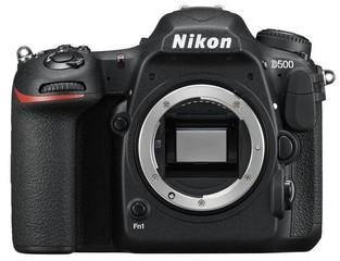 NIKON tělo D500 černé (black, cca 20.9Mpix), zrcadlovka DX