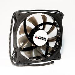 1stCOOL ventilátor REGULAR RGB 12CM FAN, 120x25mm (RGB barvy)