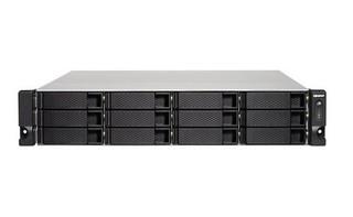QNAP TS-1273U-RP-8G datové úložiště (8GB ddr4, 12x SATA3, 2x M.2, 2x 10GLAN, 4x GLAN)