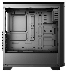 1stCOOL Middle Tower GAMER 3 EVO, ATX black černý, bez zdroje, fulltower ATX (2xUSB2+ 1xUSB3+ Audio+ Ventilátor set FAN2+ Transparentní bočnice) (PC case)