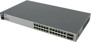HPE Aruba 2530 24G switch 28portů (J9776A, 24+4 porty) rack
