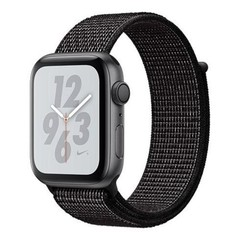 Apple Watch Nike+ Series 4 GPS, 44mm, Space Gr AC/Grey Sport Band (APPLE hodinky)