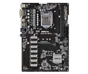 ASROCK MB H110 PRO BTC+ (intel 1151, 2x DDR4, GLAN, 13x PCIe, 4xSATA3 +M.2, USB3, DVI, ATX)