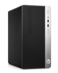 HP PC HP ProDesk 400 G5 MT Microtower, Win10pro64, intel i3-8300, 1x8GB, 256GB M.2 NVMe TLC, usb klávesnice a myš, DVDRW, 180W gold, 2xDP+VGA, Win10Pro
