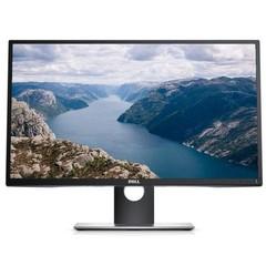 Dell U2717D FHD 27in monitor, W IPS LED, WQHD(2560x1440), 1000:1, 8ms, 350 cd/m2 , HDMI (MHL), DP, mDP, USB 3.0, tenký rámeček, černý