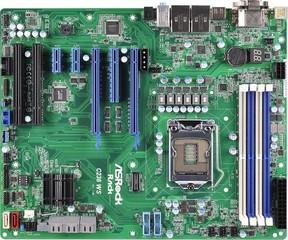 ASROCK RACK MB C236 WS server MB 1151 Xeon Kaby Lake pro pracovní stanice (intel C236, 4xDDR4, 8x SATA3, 2xGLAN, ATX
